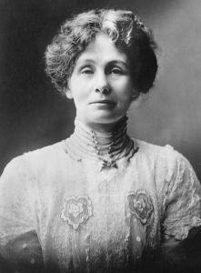 Emmeline Goulden Pankhurst, First Suffragette 1926